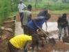 Bauarbeiten, November 2011