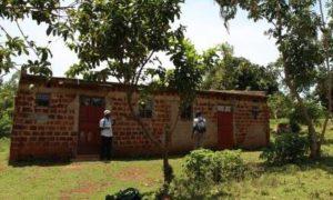 Unterkunft für die Praktikanten neben dem Kinderzentrum