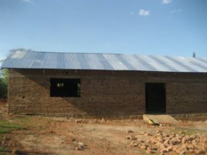 Momentaner Zustand des Gebäudes, Januar 2012